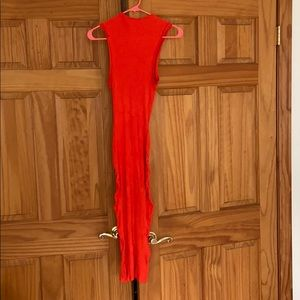 H&M bodycon drew size 4 red